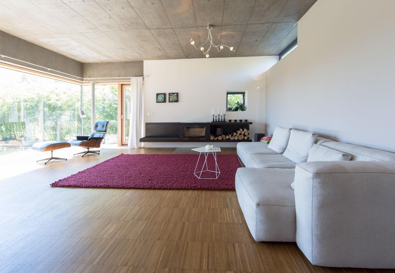 Architektur_Einfamilienhaus_Kleintobel_offenes_Wohnzimmer