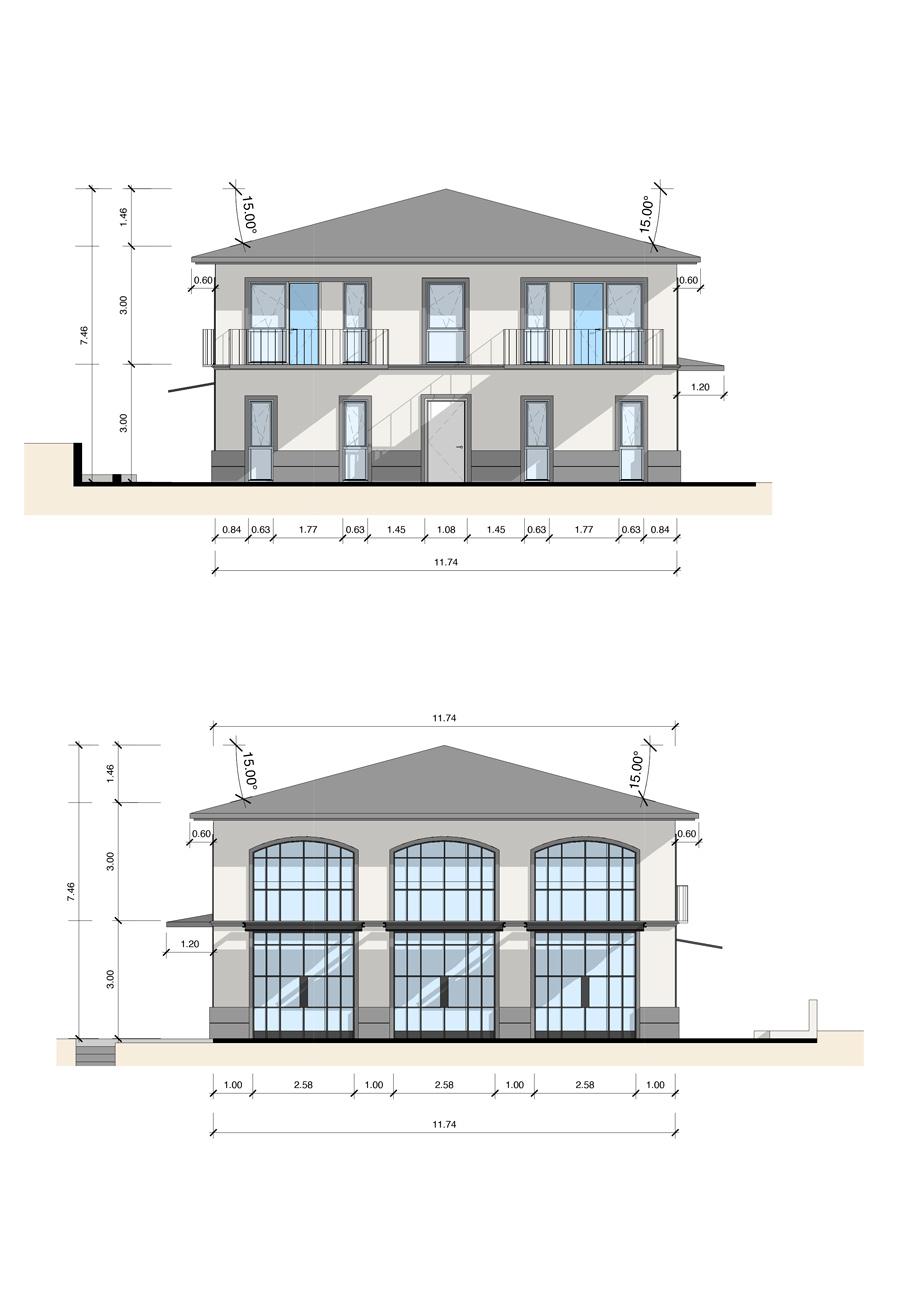Villa_Mehrfamilienhaus_Zeichnung