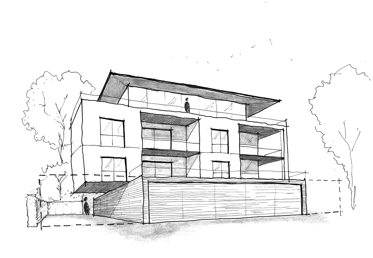 Villa_Mehrfamilienhaus_Skizze
